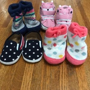 Other - Crib shoes, 0-6 months